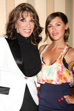 Kate Linder, Elizabeth Hendrickson. Kate Linder & Elizabeth Hendrickson  at The Young & the Restless Fan Club Dinner  at the Sheraton Universal Hotel in  Los Royalty Free Stock Images