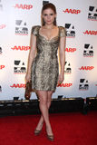 """Kate Mara. LOS ANGELES - FEB 7:  Kate Mara arrives at the 2011 AARP """"Movies for Grownups"""" Gala  at Regent Beverly Wilshire Hotel on February 7, 2011 in Beverly Royalty Free Stock Photos"""
