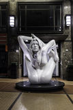 Kate moss statue in oslo by marc quinn Stock Photography