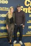 Kate Norley e John Oliver Imagem de Stock