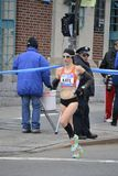 Kate Pallardy biegacza NYC maraton Zdjęcie Royalty Free