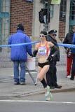 Kate Pallardy Runner NYC Marathon Royalty Free Stock Photo
