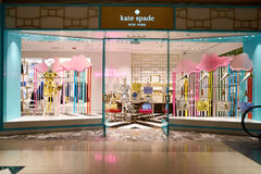 Kate Spade. CHICAGO, IL - 04 APRIL, 2016:  Kate Spade store at 900 North Michigan, Chicago. Kate Spade New York is an American fashion design house Stock Photography