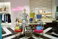 Kate Spade. CHICAGO, IL - 04 APRIL, 2016:  Kate Spade store at 900 North Michigan, Chicago. Kate Spade New York is an American fashion design house Royalty Free Stock Photo
