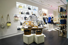 Kate Spade. CHICAGO, IL - 04 APRIL, 2016:  Kate Spade store at 900 North Michigan, Chicago. Kate Spade New York is an American fashion design house Royalty Free Stock Images