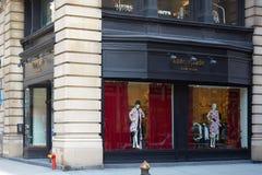 Kate Spade lager i Fifth Avenue i New York Royaltyfri Bild