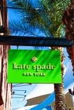Kate Spade Logo Arkivbilder