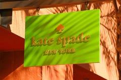 Kate Spade Logo Royaltyfria Foton