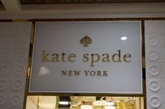 Kate Spade New York store in Ala Moana Mall. Honolulu - November 26, 2015: Kate Spade New York store in Ala Moana Mall. Kate Spade New York is an American luxury stock images