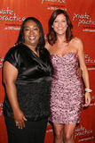 Kate Walsh, Shonda Rhimes Fotos de Stock Royalty Free