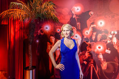 Kate Winslet Figurine At Madame Tussauds Wax Museum Royalty Free Stock Photos
