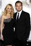 Kate Winslet and Leonardo DiCaprio Stock Photography
