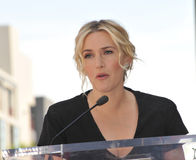 Kate Winslet. LOS ANGELES, CA - MARCH 17, 2014: Actress Kate Winslet is honored with the 2,520th star on the Hollywood Walk of Fame Stock Image