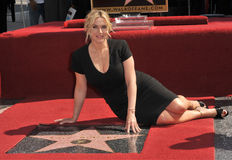 Kate Winslet. LOS ANGELES, CA - MARCH 17, 2014: Actress Kate Winslet is honored with the 2,520th star on the Hollywood Walk of Fame Royalty Free Stock Image