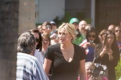 Kate Winslet Walk de la fama Foto de archivo