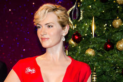 Kate Winslet wax figure Royalty Free Stock Photography
