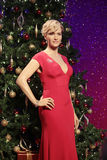 Kate Winslet. Wax statue at Madame Tussauds in London royalty free stock images