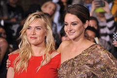 Kate Winslet y Shailene Woodley Fotografía de archivo