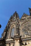 Katedrála svatého Víta. Cathedral of St Vitus of the Prague castle Stock Photo
