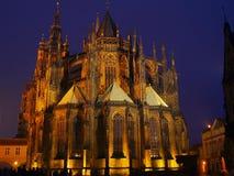 Katedrála sv. Víta Royalty Free Stock Photo