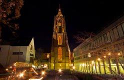 katedr dom Frankfurt Fotografia Royalty Free