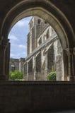 Katedra à ‰ vora w Portugalia Zdjęcie Stock