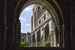 Katedra à ‰ vora w Portugalia Fotografia Stock
