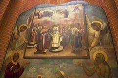 Katedra Świątobliwy basil, Moskwa, Rosyjski federacyjny miasto, federacja rosyjska, Rosja Obraz Stock