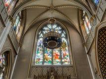 Katedra Świątobliwy Helena, wnętrze zdjęcia stock