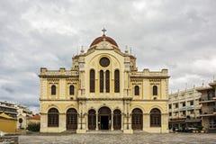 Katedra Świątobliwy Mina Minas - ażio Minas Grecja, Crete Zdjęcie Royalty Free