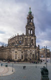 Katedra Święta trójca dresden German Obraz Stock