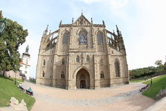 Katedra święty Barbara zdjęcie stock