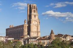 Katedra święty Cecilia Albi fotografia royalty free