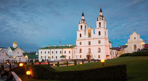 Katedra Święty Duch w Minsk Fotografia Stock