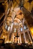Katedra święty Eulalia Zdjęcie Stock