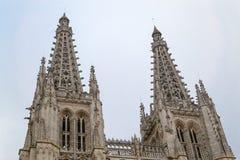 Katedra święty Mary Burgos zdjęcie royalty free