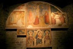 Katedra święty Rufino, Assisi, Italy obraz stock
