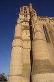 Katedra Albi, Pyrenees, Francja Obraz Royalty Free
