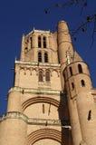 Katedra Albi, Pyrenees, Francja Zdjęcie Royalty Free