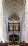 katedra almudena Madryt fotografia royalty free