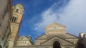 Katedra Amalfi Obraz Stock