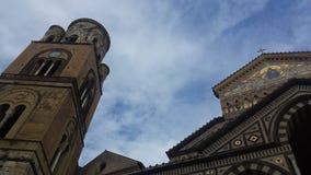 Katedra Amalfi Zdjęcie Stock