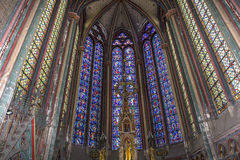 Katedra Amiens, picardie, France Obrazy Royalty Free