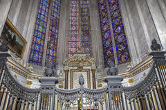 Katedra Amiens, picardie, France Obraz Royalty Free