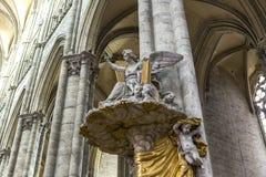 Katedra Amiens, picardie, France Zdjęcia Stock