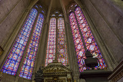 Katedra Amiens, picardie, France Zdjęcie Stock