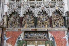 Katedra Amiens, picardie, France Zdjęcia Royalty Free