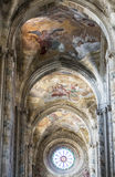 Katedra Asti, wnętrze Fotografia Royalty Free