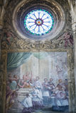 Katedra Asti, wnętrze Obrazy Stock