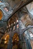 Katedra Avila wnętrze Obraz Royalty Free